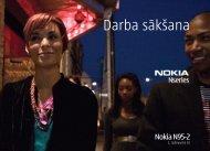 Darba sākšana - Nokia