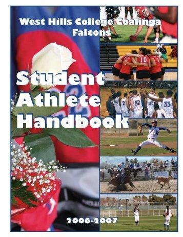 Athletic Handbook - West Hills College Coalinga Athletics