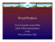 Wood Products - North Country Council
