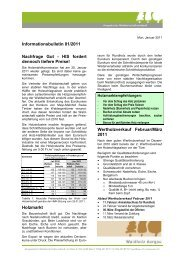 Infobulletin 201101 - AWV