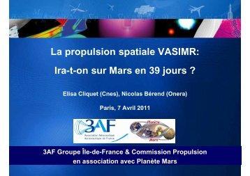 Presentation_3AF-APM_VASIMR_7-4-2011 - Planète Mars