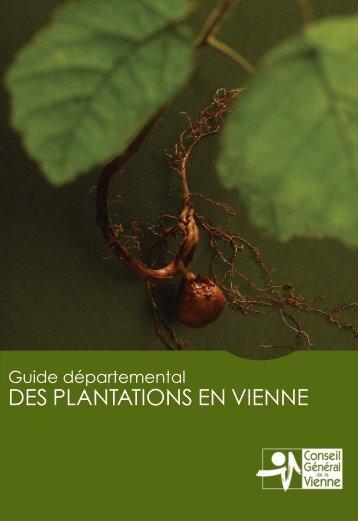 Guide départemental des plantations en Vienne - Conseil Général ...