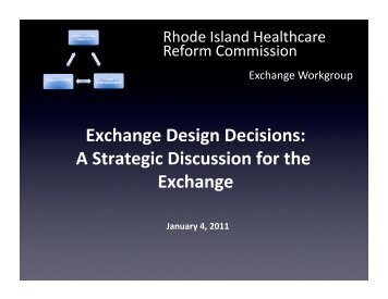 Exchange Strategic_workgroup_v4 - State of Rhode Island ...