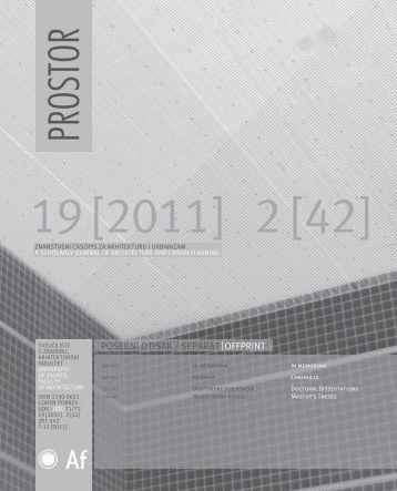 18_In memo_Kronika_Doktorati.pdf - Arhitektonski fakultet ...
