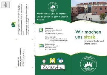Beitrittserklärung - Grundschule Blumberg