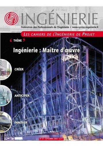 Cahiers de l'ingénierie de projet - cohesion international