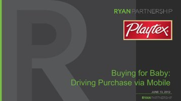 Buying for Baby: Driving Purchase via Mobile