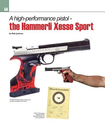 the Hammerli Xesse Sport - Frontier Arms