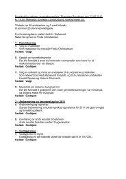 Protokoll fra ordinær generalforsamling i Elvesiden ... - Herborvi.no