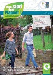 Mijn stad onze planeet - Leefmilieu Brussel