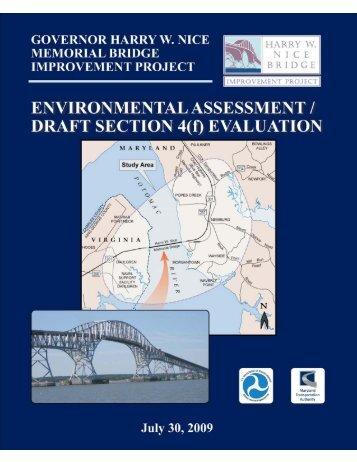 Environmental Assessment - Maryland Transportation Authority