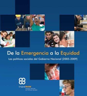 De la a la Emergencia Equidad Social - IIN