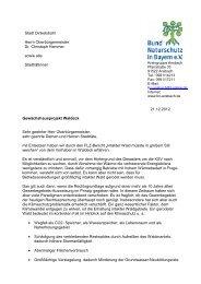 Waldeck - Bund Naturschutz Kreisgruppe Ansbach