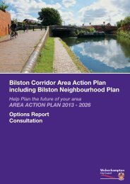 Bilston Corridor AAP Report - Wolverhampton City Council