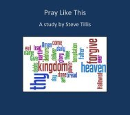 Pray Like This - Emmanuel Baptist Church