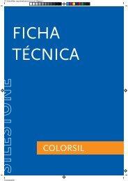 Ficha Técnica Colorsil - Silestone