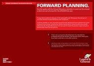 FORWARd PLANNiNG. - Legal & General