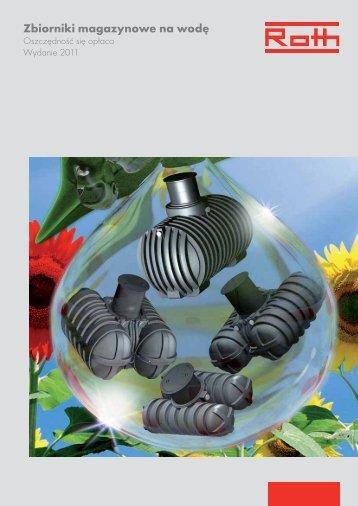 Zbiorniki magazynowe na wodę - prospekt 2011.pdf - Roth