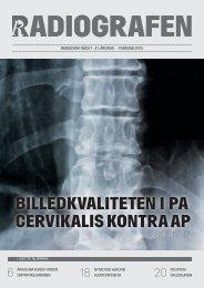 Radiografen 01, februar 2013, årgang 41 - Foreningen af ...
