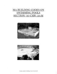 ma building codes on swimming pools section 780 cmr 120.m