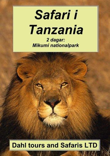 Mikumi nationalpark - Dahl Safaris