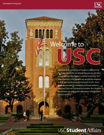 Orientation Programs - USC Student Affairs Information Technology ...