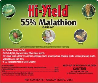 Label 31083 55 Malathion Spray Approved 05-03-12 - Fertilome