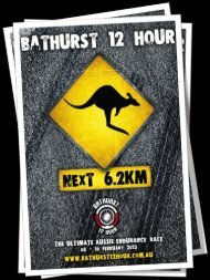 Newsletter # 2 - Bathurst 12 Hour