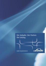LE_Kryo_Image_DEU.indd - bei Linde Kryotechnik AG, Schweiz