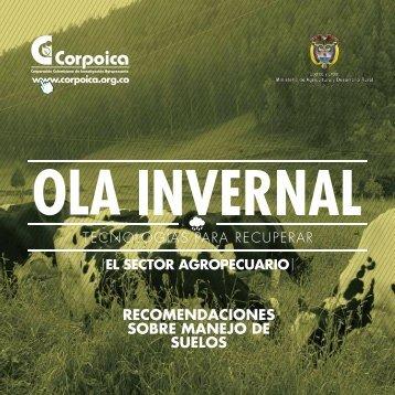 RECOMENDACIONES SOBRE MANEJO DE SUELOS - Corpoica
