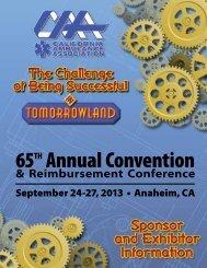 Sponsor and Exhibitor Information - California Ambulance Association