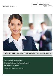 Broschüre 2013/2014 - JurGrad