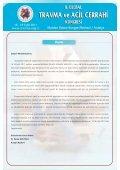 bildiri özet kitabı - Ulusal Travma ve Acil Cerrahi Derneği - Page 4