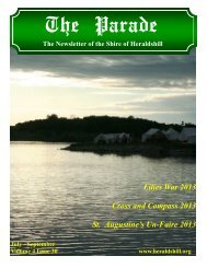 Volume 4, Issue 30 - July-September 2013 - Heraldshill!
