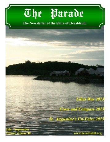 Volume 4, Issue 30 - July-September 2013 - Heraldshill!