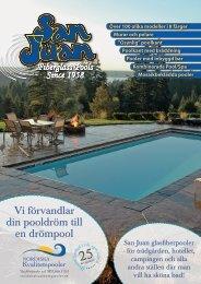 Ladda ner San Juans poolkatalog med alla nya modeller för 2013.