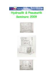 Steuerungstechnik Dauer 4-5 Tage - Hydraulik - Pneumatik - Kontor ...