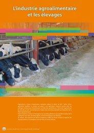 L'industrie agroalimentaire et les élevages
