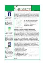 Ausgabe Nr. 10 Klassische Homöopathie