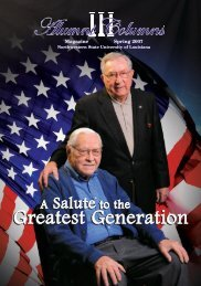 Greatest Generation Greatest Generation - Northwestern State ...