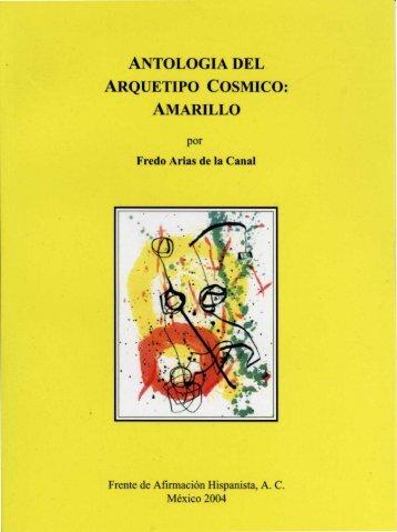 antologia del arquetipo cosmico: amarillo - Frente de Afirmación ...