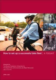 How to set up a successful bike fleet - TravelSmart