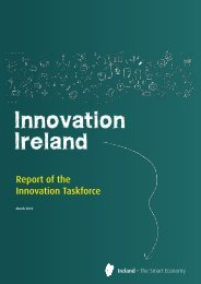 Report of the Innovation Task Force - Enterprise Ireland