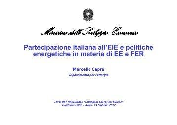 Ministero dello Sviluppo Economico - Corrente - Gse