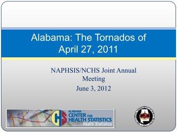 Alabama: The Tornados of April 27, 2011