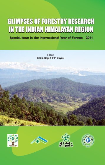 Glimpses of forestry research in the indian himalayan region