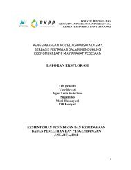 Studi Eksplorasi Agriwisata - PKPP - Kementerian Riset dan Teknologi