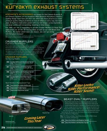 Exhaust Systems - Rute66
