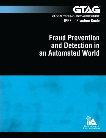 Fraud Prevention and Detection in an Automated World