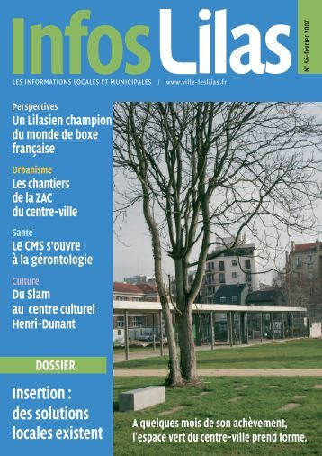 Insertion : des solutions locales existent - Les Lilas